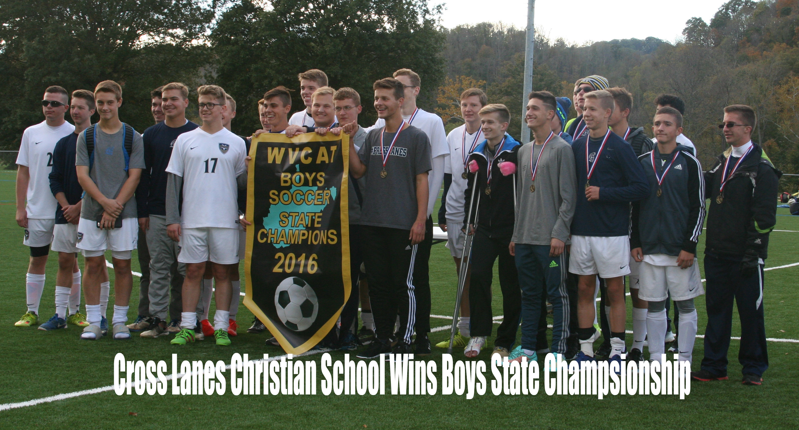 CLCS Varsity Boys Soccer Team Brings Home First Place