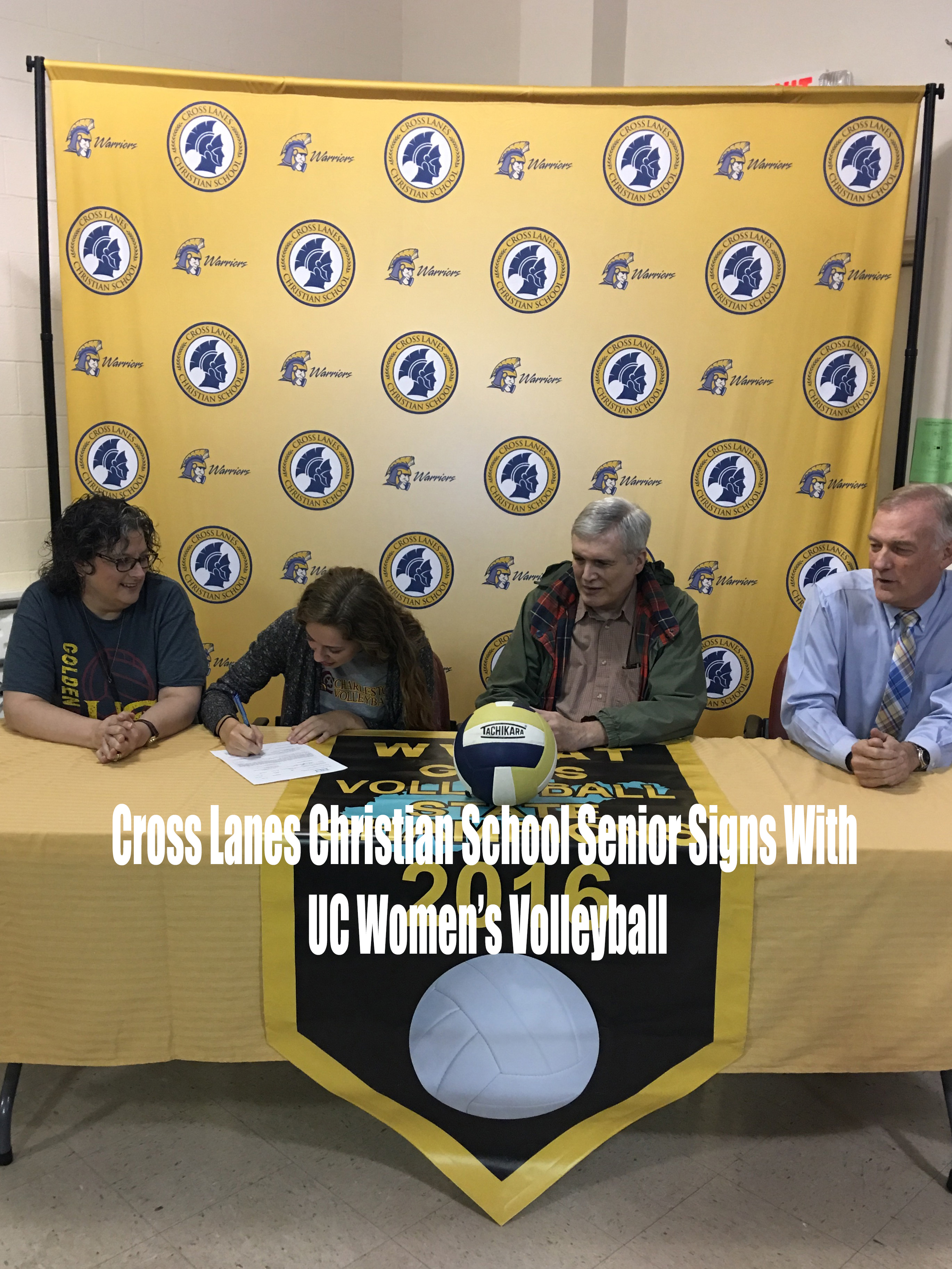 Cross Lanes Christian Senior Signs With University of Charleston's Women's Volleyball Team